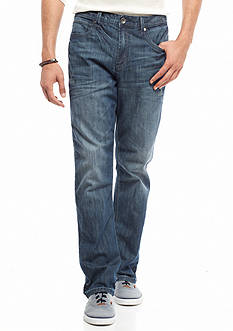 Red Camel Destructed Bootcut Jeans