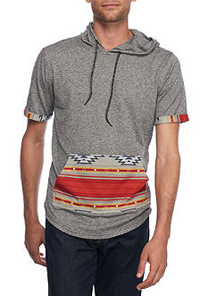Brooklyn CLOTH® Mfg. Co Short Sleeve Tribal Hoodie