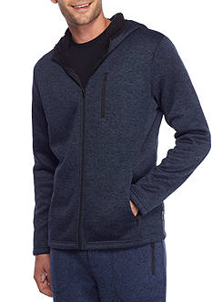 Brooklyn CLOTH Mfg. Co Long Sleeve Cozy Sherpa Full Zip Hoodie