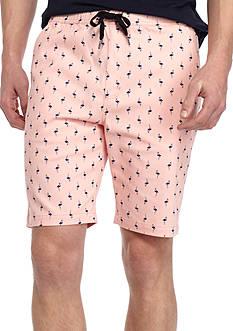 Brooklyn CLOTH Mfg. Co Flamingo Print Jogger Shorts