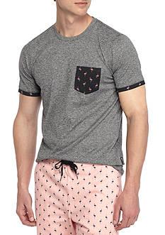 Brooklyn CLOTH Mfg. Co Short Sleeve Printed Pocket Tee