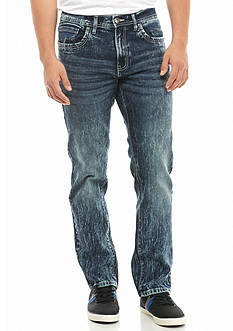 Hollywood® The Jean People Slim Straight Stretch Jeans