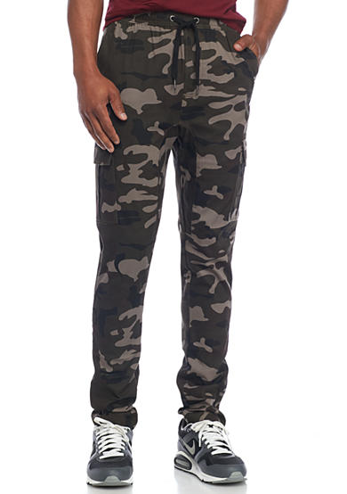 Hollywood® The Jean People Cargo Jogger Pants