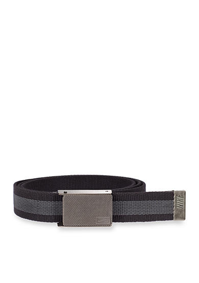 Nike® Rubber Inlay Reversible Web Belt
