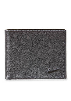 Nike® Pebble Leather Billfold Wallet