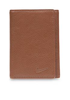 Nike® Pebble Leather Trifold Wallet