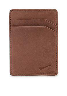 Nike® Pebble Leather Money Clip