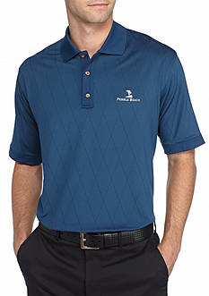 PEBBLE BEACH™ Classic-Fit Striped Jacquard Performance Golf Polo Shirt