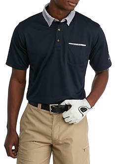 PEBBLE BEACH™ Classic-Fit Poly Mico-Pique Performance Polo Shirt