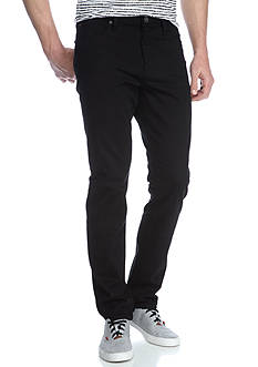 WILLIAM RAST™ Dean Slim-Fit Straight-Leg Twill Pants