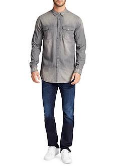 WILLIAM RAST™ Long Sleeve Branson Denim Shirt