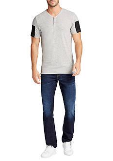 WILLIAM RAST™ Short Sleeve Edison Henley Shirt
