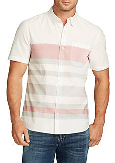 WILLIAM RAST™ Short Sleeve Fulton Stripe Shirt