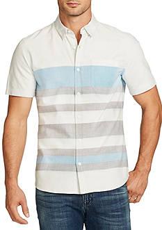 WILLIAM RAST™ Short Sleeve Fulton Stripe Shirt