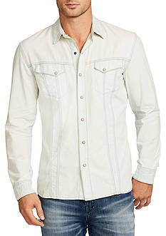 WILLIAM RAST™ Long Sleeve Oak Denim Shirt