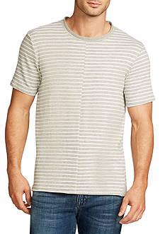 WILLIAM RAST™ Short Sleeve Split Stripe Shirt