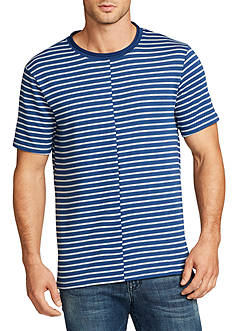 WILLIAM RAST™ Short Sleeve Split Stripe Shirt