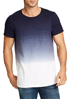 WILLIAM RAST™ Short Sleeve Ombre Long Shirt