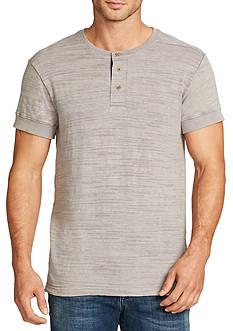 WILLIAM RAST™ Short Sleeve Ian Slub Henley Shirt