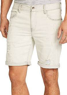 WILLIAM RAST™ Kendrick Destroyed Denim Shorts