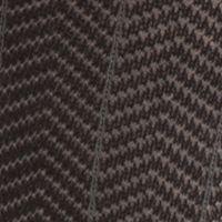 Mens Casual Socks: Black Saddlebred Mercerized Cotton Herringbone Crew Socks - Single Pair