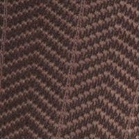 Mens Casual Socks: Brown Saddlebred Mercerized Cotton Herringbone Crew Socks - Single Pair