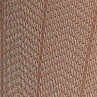 Mens Casual Socks: Khaki Saddlebred Mercerized Cotton Herringbone Crew Socks - Single Pair