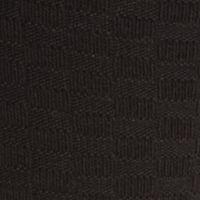 Mens Casual Socks: Black Saddlebred Check Textured Pattern Crew Socks - Single Pair