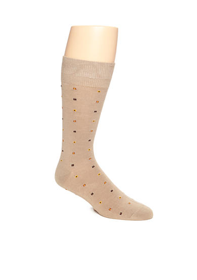 Saddlebred® Boxed Neat Soft Touch Crew Socks - Single Pair