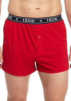 IZOD Knit Boxer Briefs