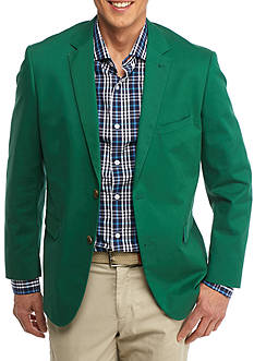 Crown & Ivy™ Classic-Fit Motion Stretch Green Cotton Sport Coat