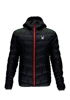 Spyder Geared Hoodie Synthetic Down Jacket