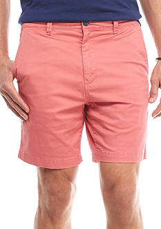 Crown & Ivy™ Stretch 7-in Twill Shorts