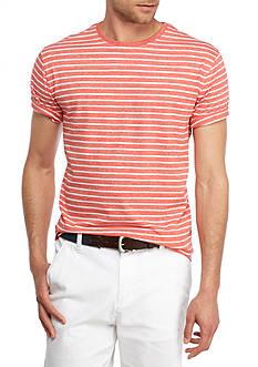 Crown & Ivy™ Short Sleeve Jasper Stripe Crew Neck Tee