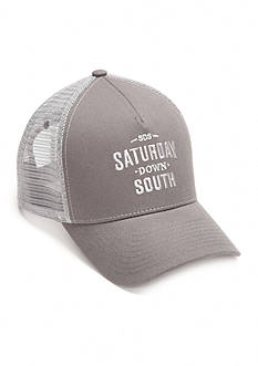 'Saturday Down South' Mesh Trucker Cap