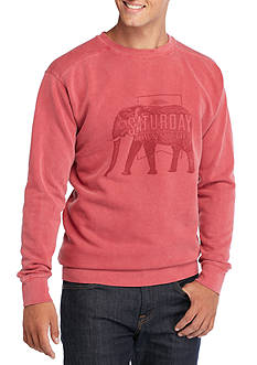 Saturday Down South Elephant Fleece Sweatshirt
