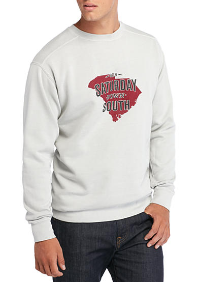 Saturday Down South® Comfort Colors South Carolina State of Mind Fleece Sweatshirt