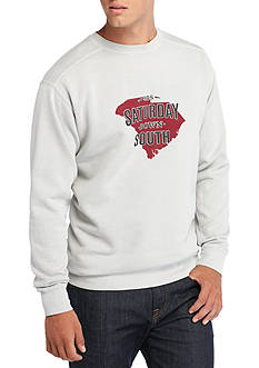 Saturday Down South Comfort Colors South Carolina State of Mind Fleece Sweatshirt