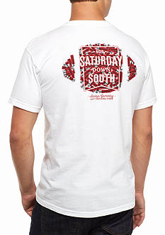 Saturday Down South Comfort Colors Shell Yeah Comfort Tee