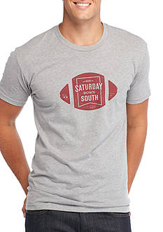 Saturday Down South® Football Badge Vintage Tee