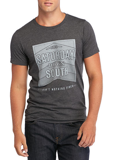 Saturday Down South® Stacked Vintage Tee