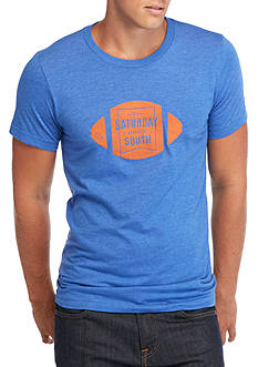 Saturday Down South Football Badge Vintage Tee