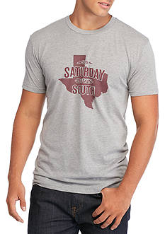 Saturday Down South Texas State of Mind Vintage Tee