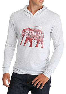 Saturday Down South Elephant Hoodie Tee