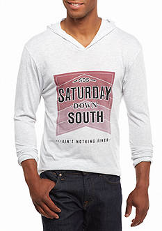 Saturday Down South® Stacked Hoodie Tee