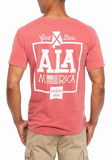 Saturday Down South® Comfort Colors Alamerica Pocket Tee