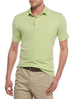 Crown & Ivy™ Short Sleeve Stretch Solid Performance Polo Shirt