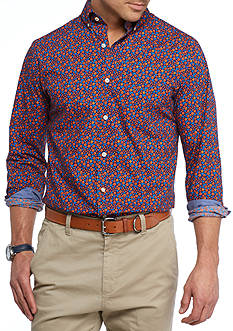 Crown & Ivy™ Long Sleeve Stretch Button Down Shirt