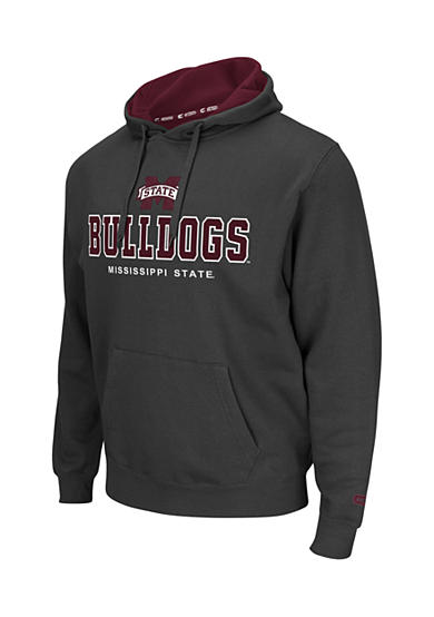 Colosseum Athletics Mississippi State bulldogs Zone Char Fleece Hoodie