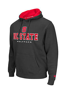 Colosseum Athletics NC State Wolfpack Zone Char Fleece Hoodie